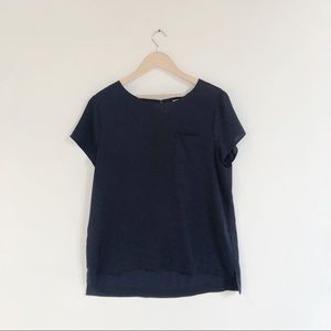 J.Crew Navy T-shirt Blouse
